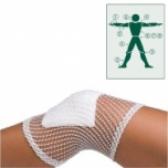 Elastic tube net bandage - knee