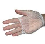Elastic tube net bandage - palm, elbow